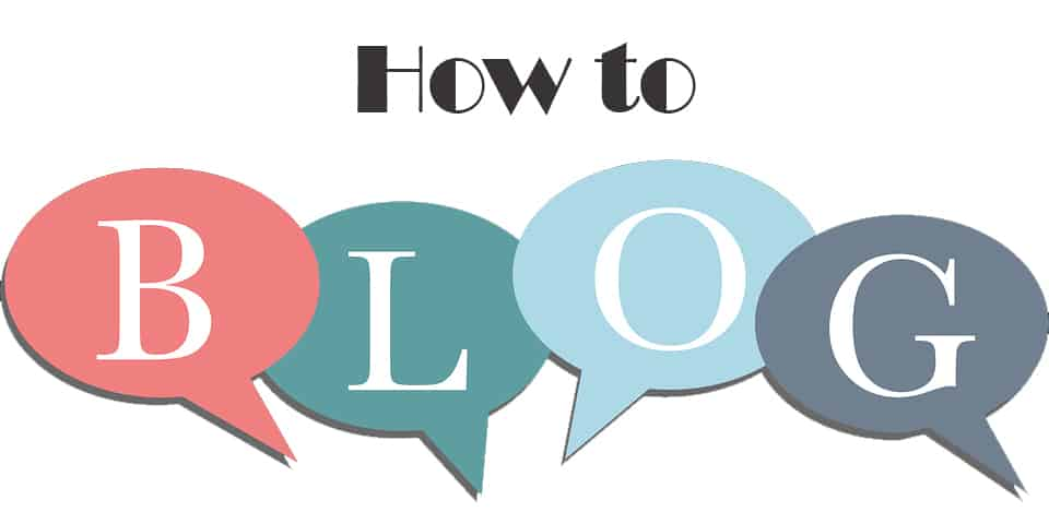 How to blog image