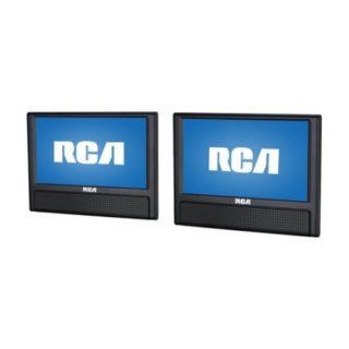 RCA 9″ Mobile Dual Screen DVD Player