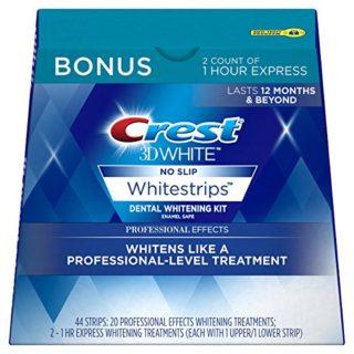 22-Treatment Crest 3D White Professional Effects Whitestrips Kit
