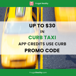 Up to $30 in Curb Taxi App Credits – Use Curb Promo Code