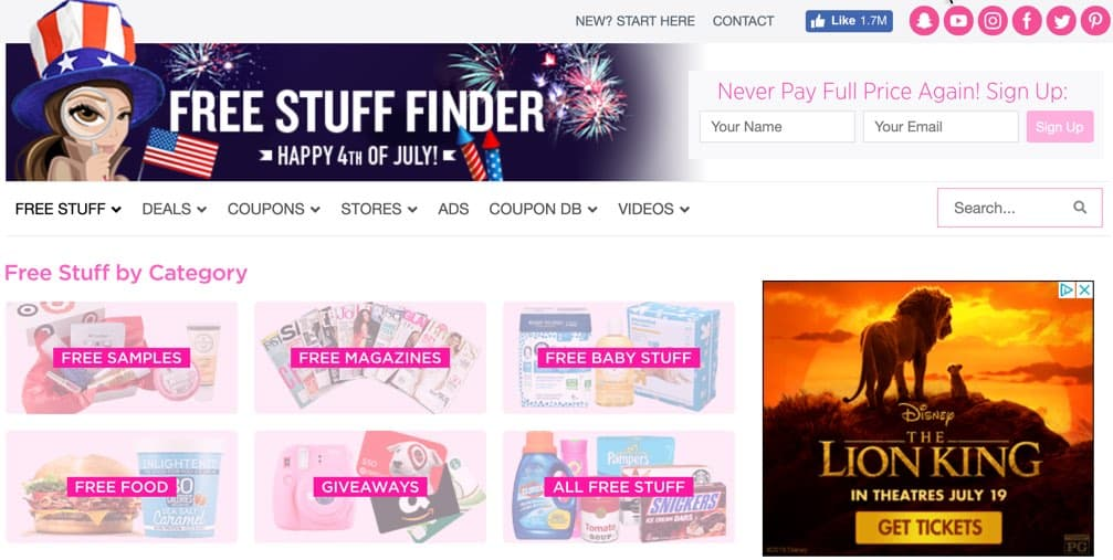 FreeStuffFinder Freebies for Expecting Moms New Moms Frugal Reality