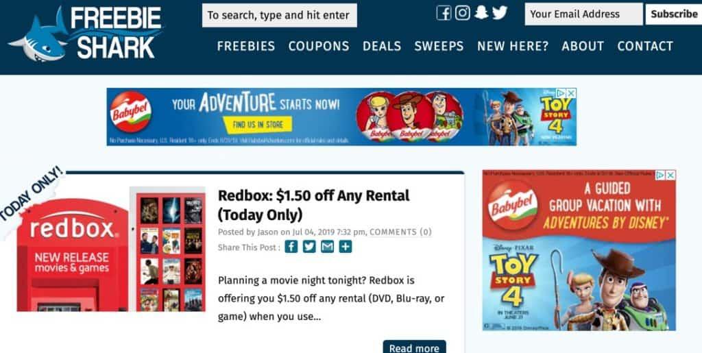 FreebieShark Daily Best Freebies Samples Frugal Reality