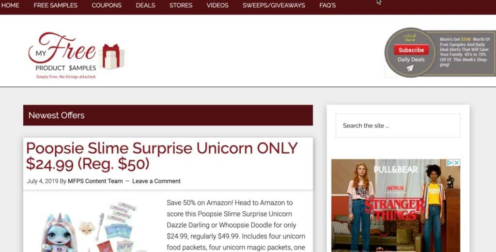 MyFreeProductSamples Legit Free Samples by Mail Frugal Reality
