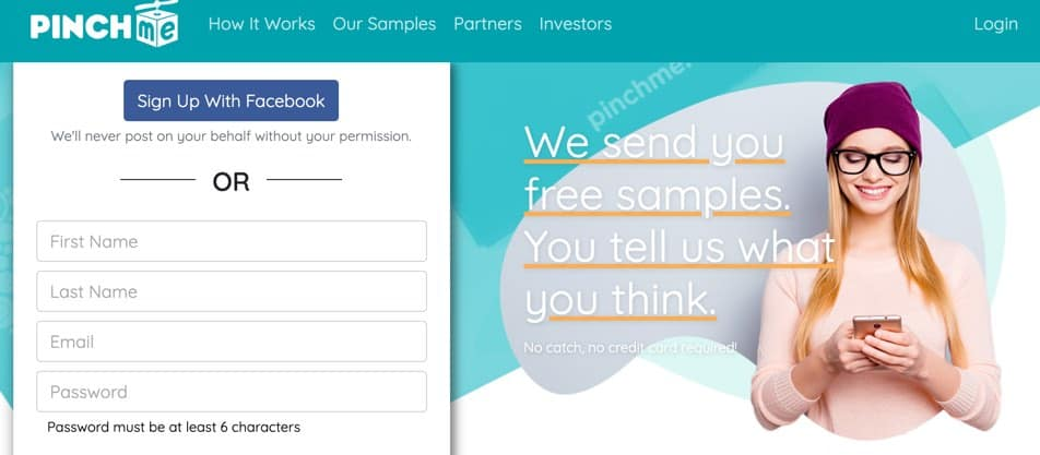 PinchME Surveys for Free Stuff Frugal Reality