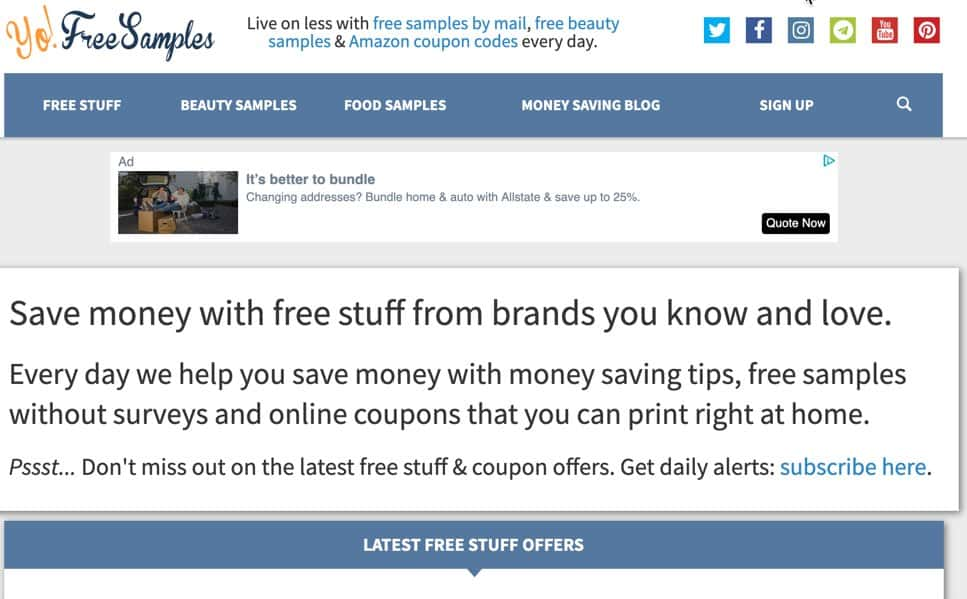 YoFreeSamples Free Baby Stuff Just Pay Shipping Frugal Reality