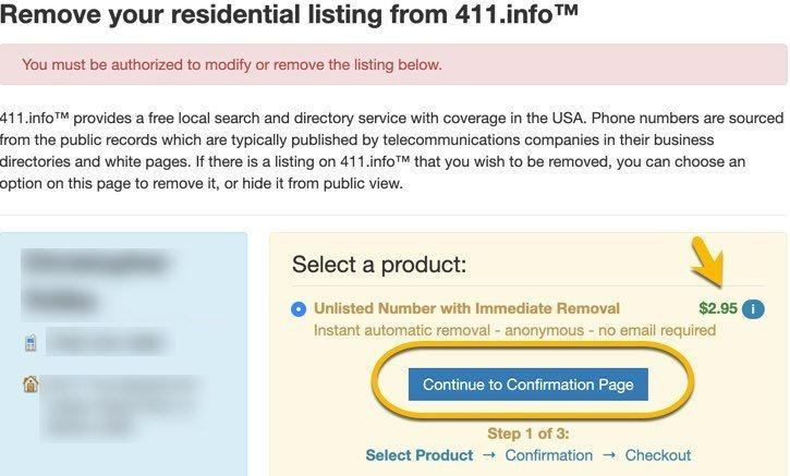 remove name from 411.info FrugalReality-4