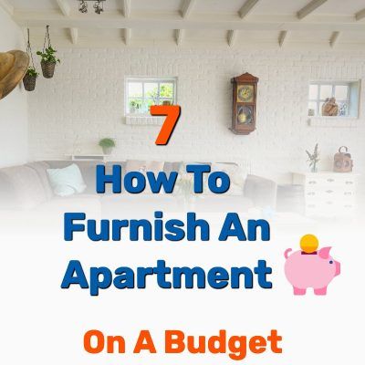Furnish apartment on a budget - Frugal Reality