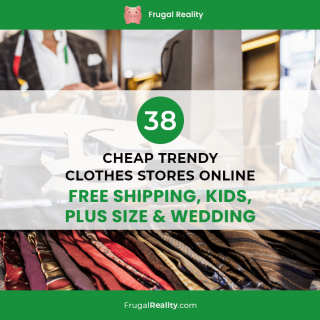 38 Cheap Trendy Clothes Stores Online [Free Shipping, Kids, Plus Size & Wedding]