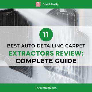 11 Best Auto Detailing Carpet Extractors Review: Complete Guide