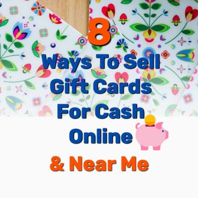 Sell gift cards cash online - Frugal Reality