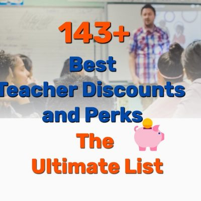 best teacher discounts - Frugal Reality