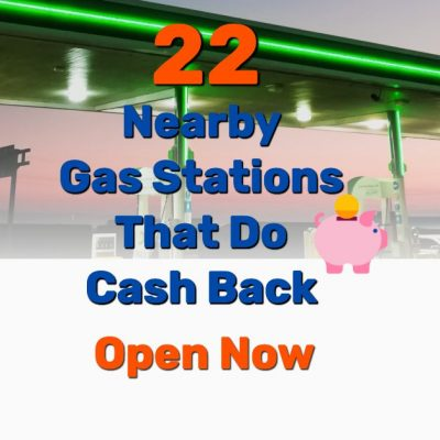 gas stations that do cash - Frugal Reality