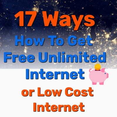 get free unlimited internet home - Frugal Reality