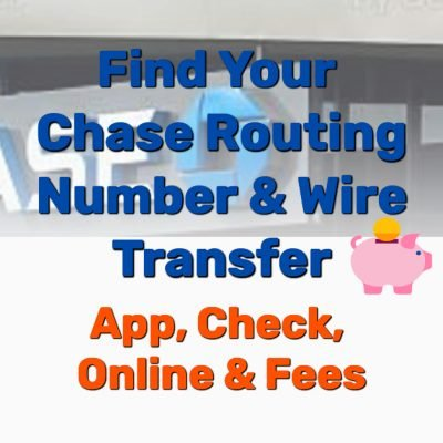 Chase routing number wire transfer - Frugal Reality