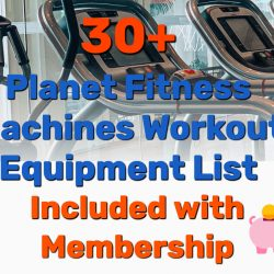 30+ Planet Fitness Machines Workout Equipment List [Included with Membership]