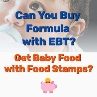 Can You Buy Formula with EBT? Get Baby Food with Food Stamps?