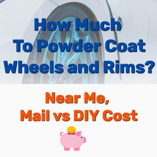 How Much To Powder Coat Wheels and Rims? (Near Me, Mail vs. DIY)