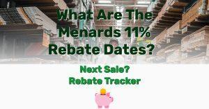Menards 11 sale rebate dates - Frugal Reality
