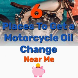 6 Places To Get a Motorcycle Oil Change Near Me