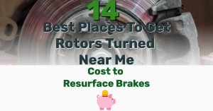 Where to get rotors turned - Frugal Reality