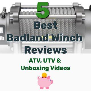 Top 5 Best Badland Winch Reviews (ATV, UTV, Unboxing Videos)