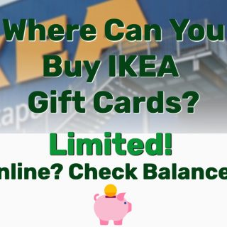 Where Can You Buy IKEA Gift Cards? Limited! Online? Check Balance?