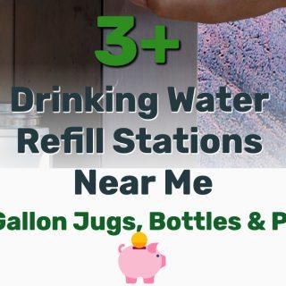 3+ Drinking Water Refill Stations Near Me (5-Gallon Jugs, Bottles, Pool)
