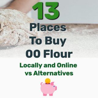 Where to Buy 00 Flour? 13 Places Locally and Online Vs. Alternatives