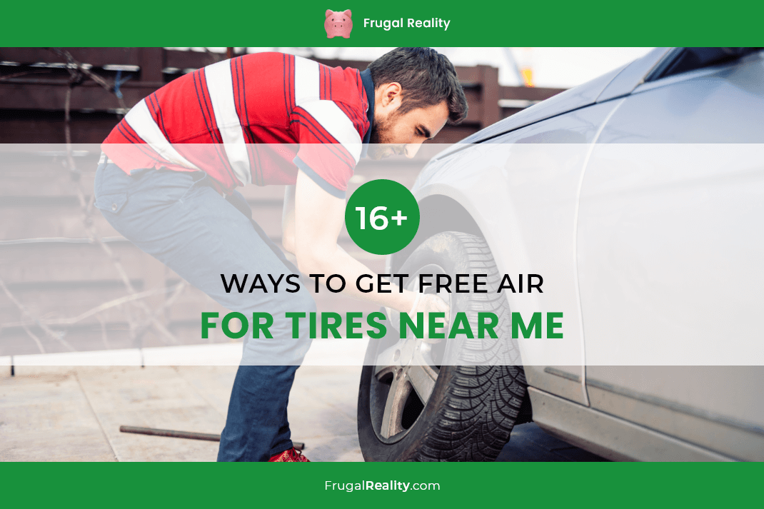 16+ Ways to Get Free Air for Tires Near Me (2020)