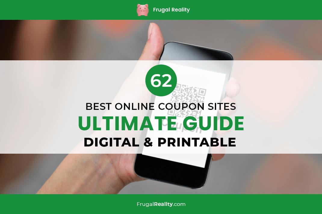 62 Best Online Coupon Sites – Ultimate Guide (Digital & Printable)