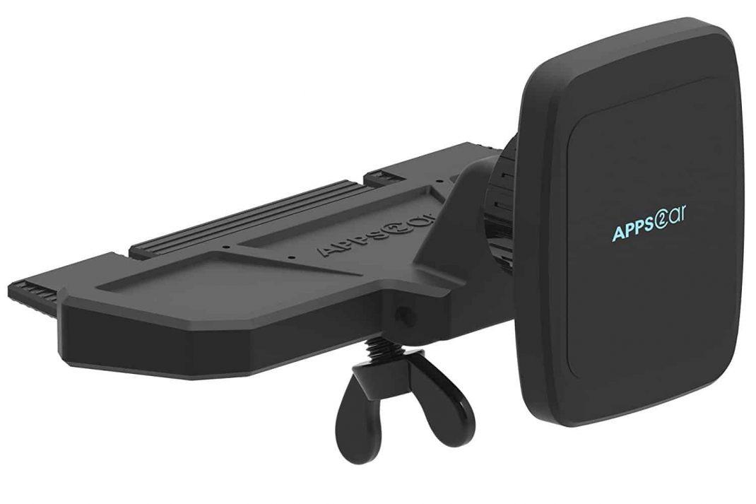 APPS2CAR CD Player Car Phone Mount