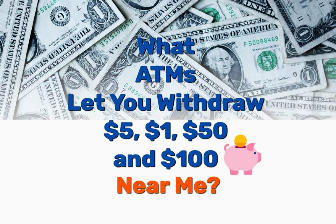 ATM dispense 5 1 50 100 bills - Frugal Reality