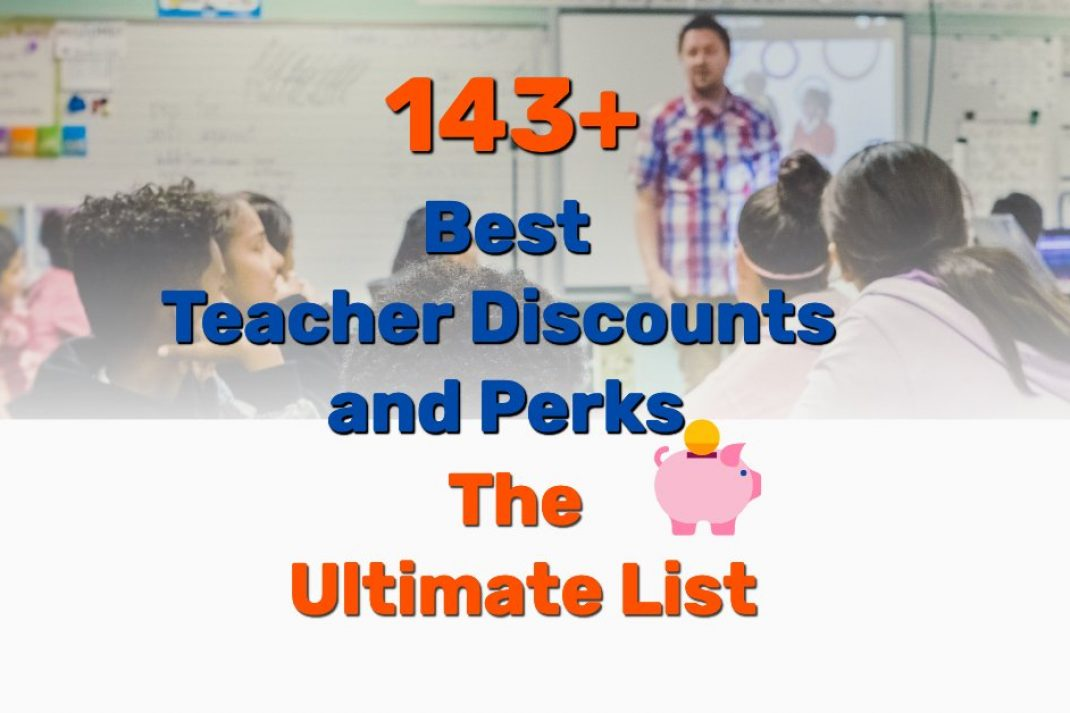 best teacher discounts - Frugal Reality