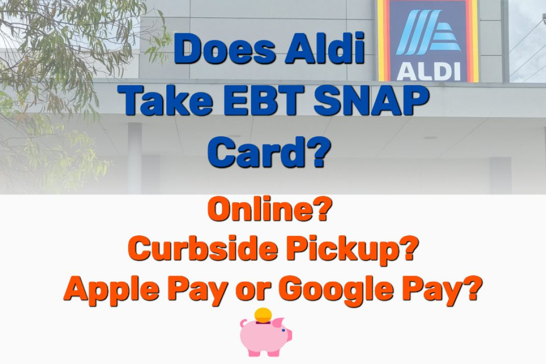 Does Aldi Take EBT SNAP Card - Frugal Reality
