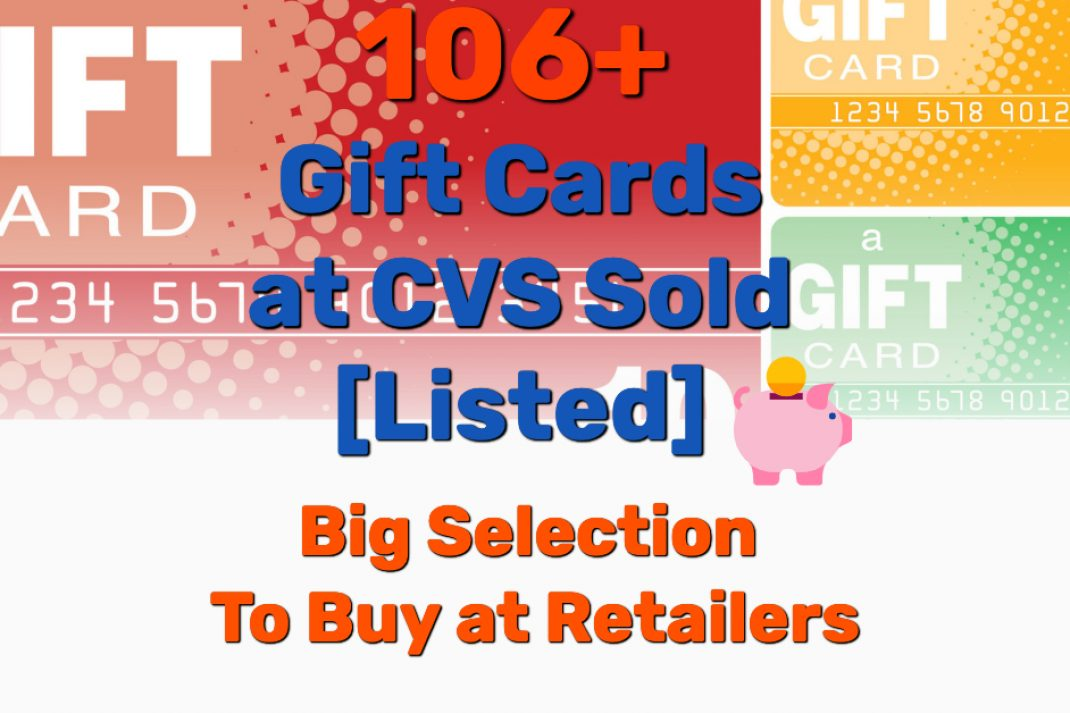 Gift cards at CVS - Frugal Reality