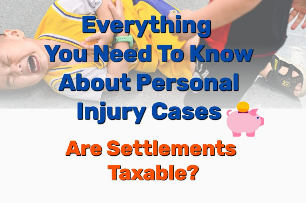Personal injury law taxable settlement - Frugal Reality