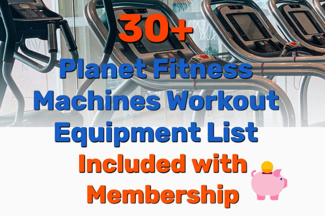 Planet Fitness Machines Workout Equipment List - Frugal Reality