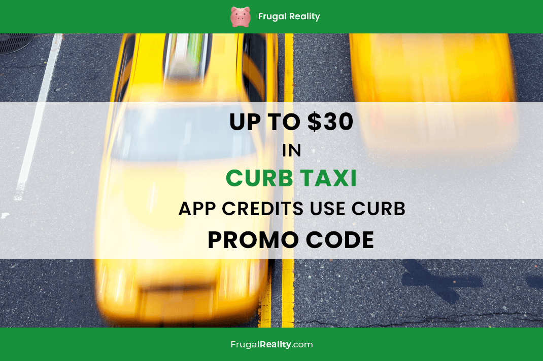Up to $30 in Curb Taxi App Credits - Use Curb Promo Code