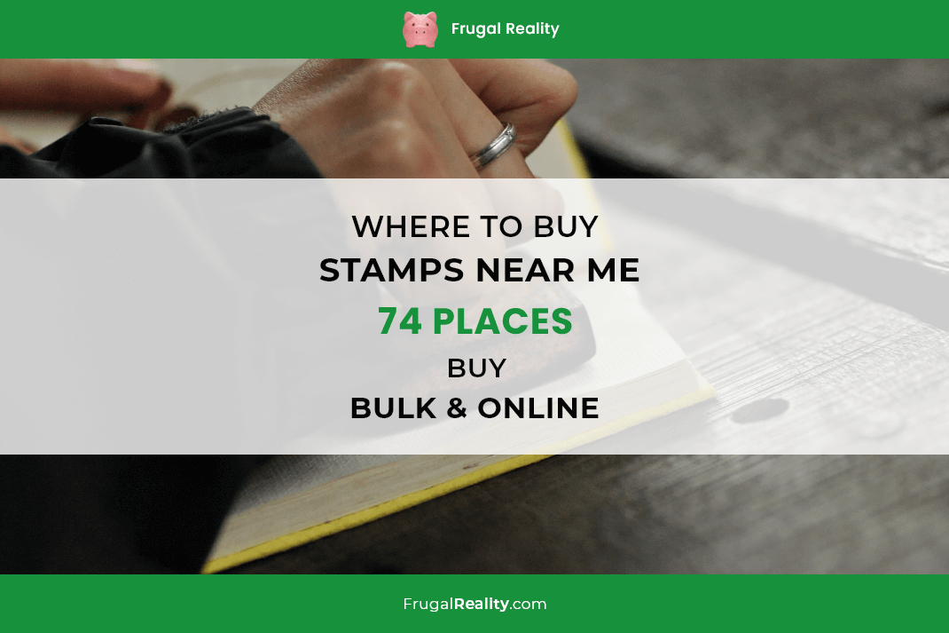 Where to Buy Stamps Near Me 74 Places – Buy Bulk & Online