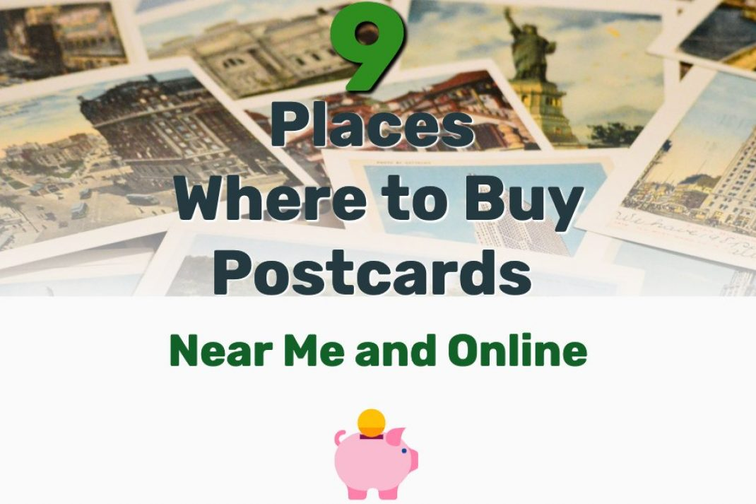 Where to Buy Postcards Near Me - Frugal Reality
