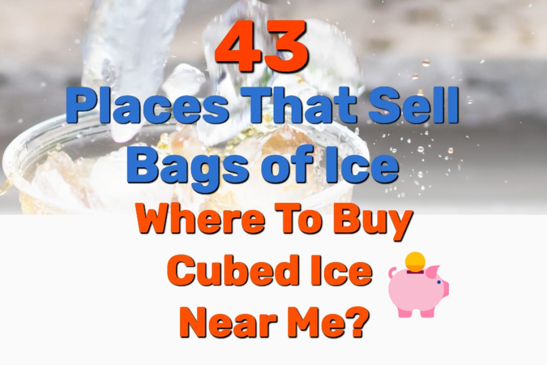 Buy Cubed Ice Near Me - Frugal Reality