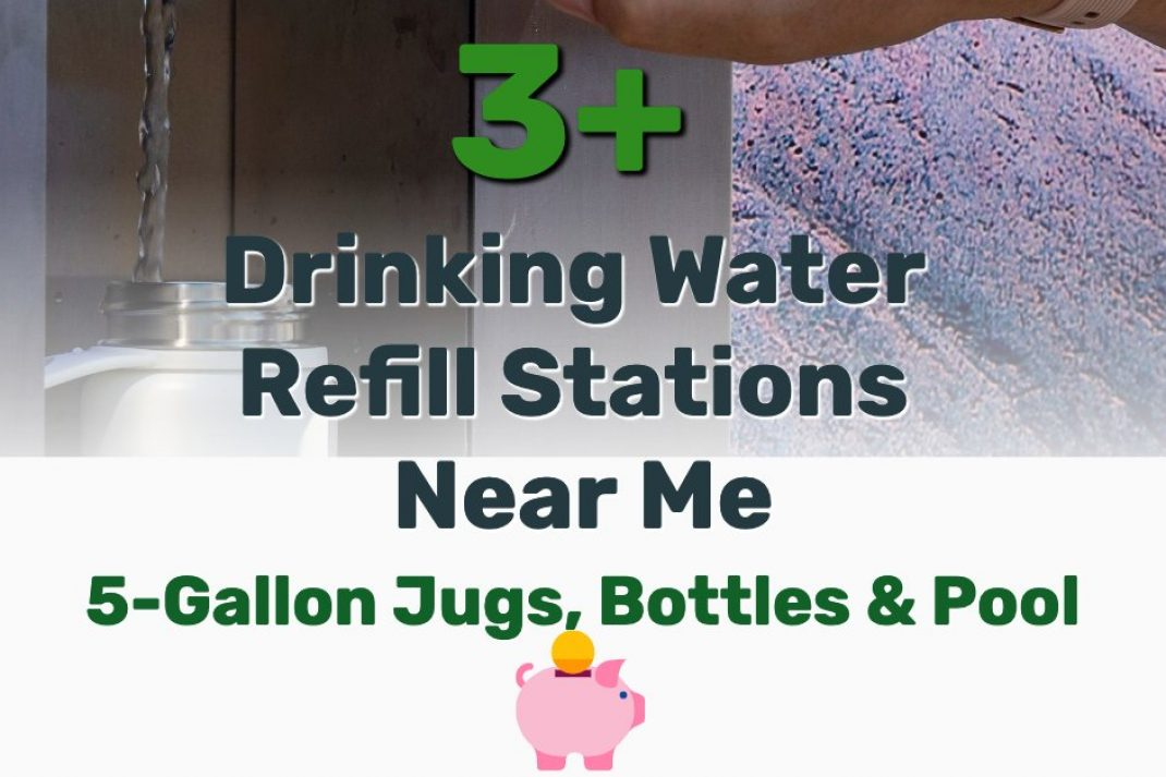 Drinking Water Refill Stations Near Me - Frugal Reality