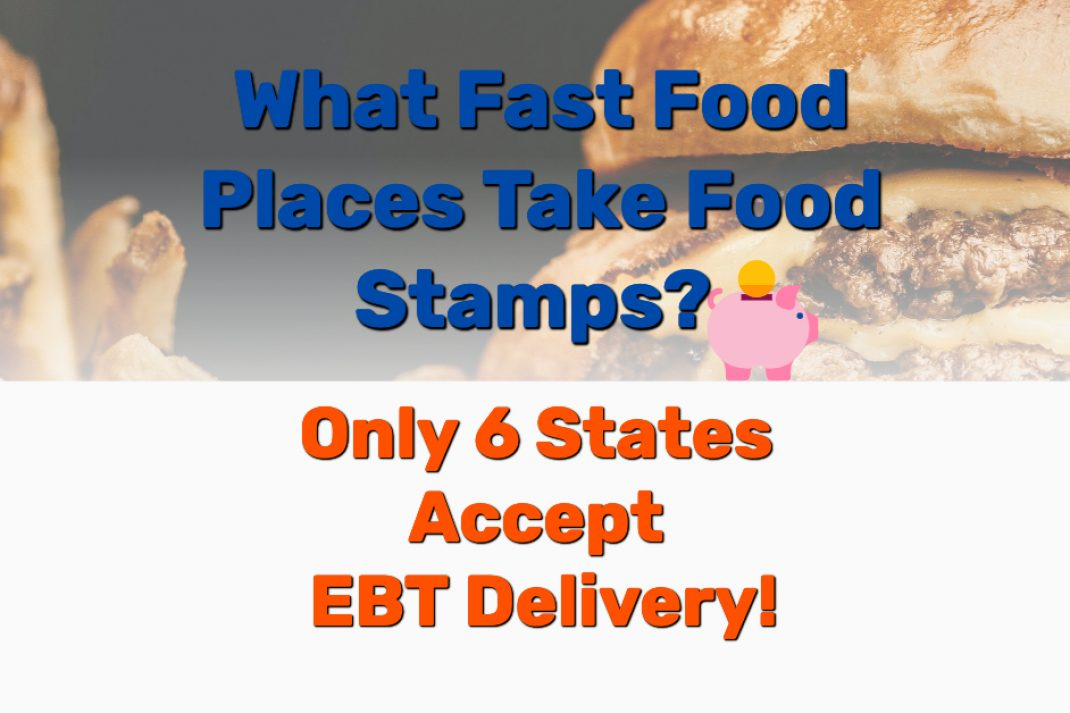EBT fast food restaurant delivery - Frugal Reality