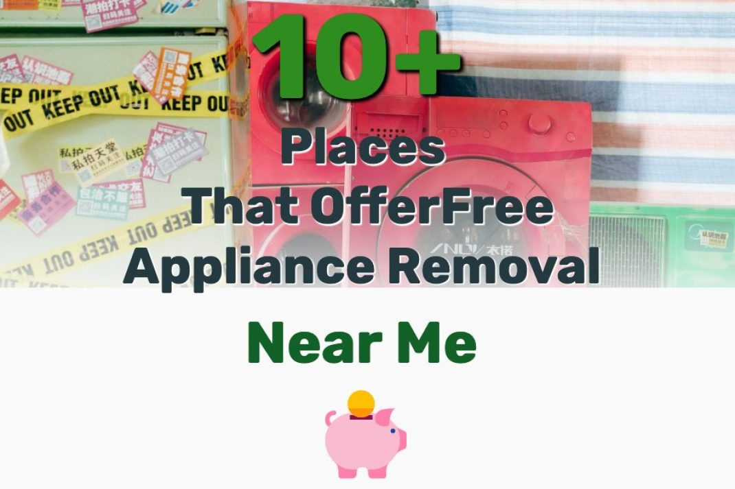 Free Appliance Removal Near Me - Frugal Reality