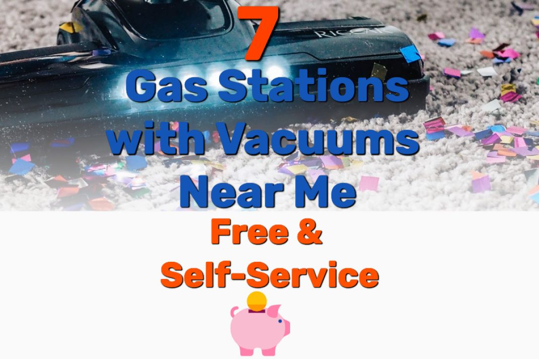 Gas Stations with Vacuums Near Me - Frugal Reality