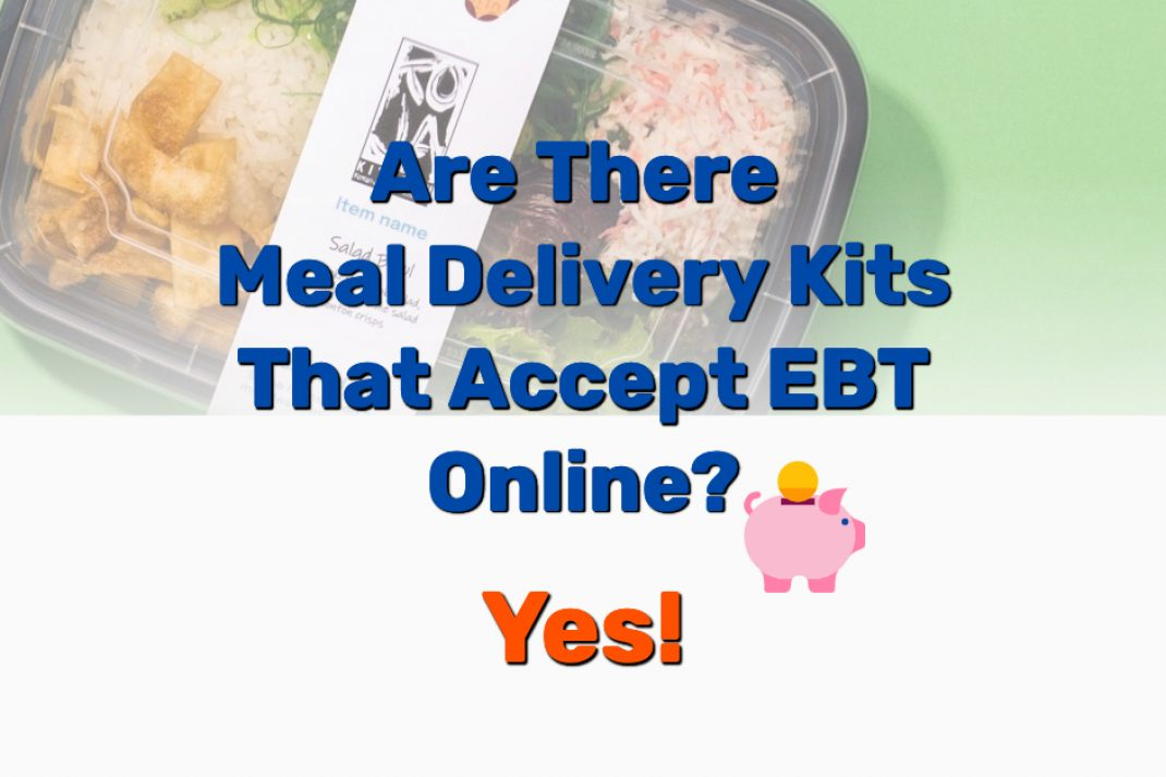 Meal Delivery Kits That Accept EBT - Frugal Reality