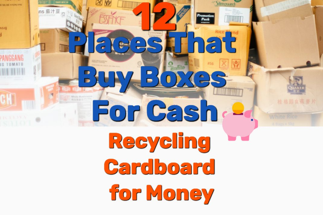 recycling cardboard for money - Frugal Reality