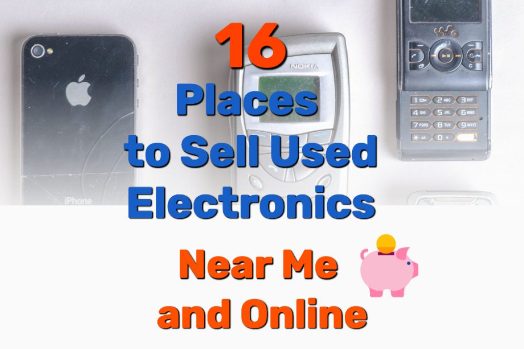 Places to Sell Used Electronics - Frugal Reality
